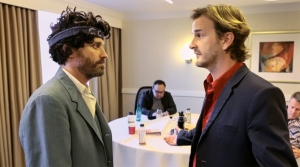 Rob Benedict and Richard Speight, Jr. in Kings of Con