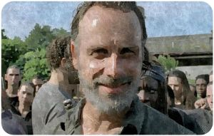 rick-smiles-the-walking-dead-rock-in-the-road
