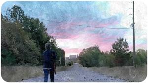 Carol sunrise The Walking Dead Bury Me Here