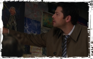 Castiel Reptilian Supernatural Somewhere Between Heaven and Hell