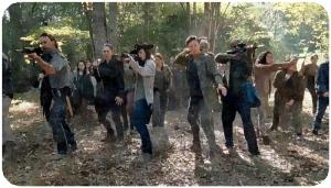 Oceanside walker shoot The Walking Dead Something They Need