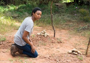 Sasha grave The Walking Dead The Other Side