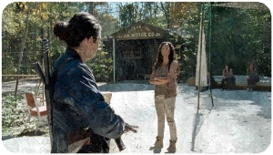 Tara Cindy The Walking Dead Something They Need