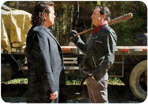 Eugene Negan The Walking Dead First Day