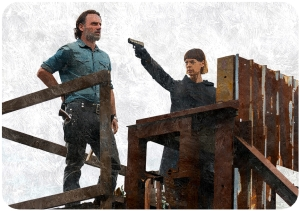 Rick Jadis The Walking Dead First Day