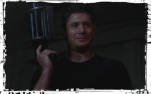 Dean grenade launcher Supernatural Who We Are