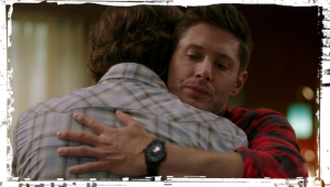 Sam Dean hug Supernatural Who We Are