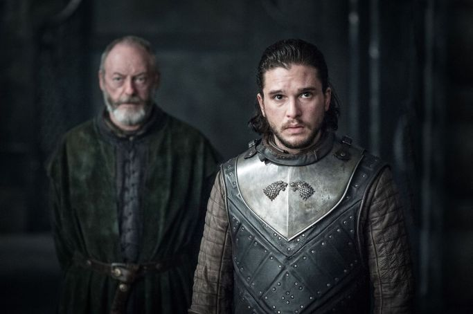 Davos Jon Snow Game of Thrones The Queen's Justice