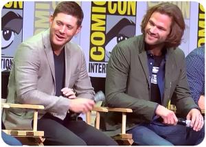 Jensen Ackles Jared Padalecki Supernatural Comic Con 2017