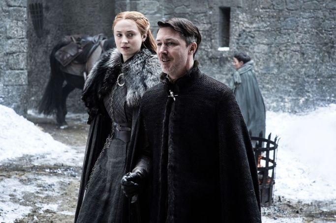 Sansa Stark Littlefinger Game of Thrones The Queen's Justice