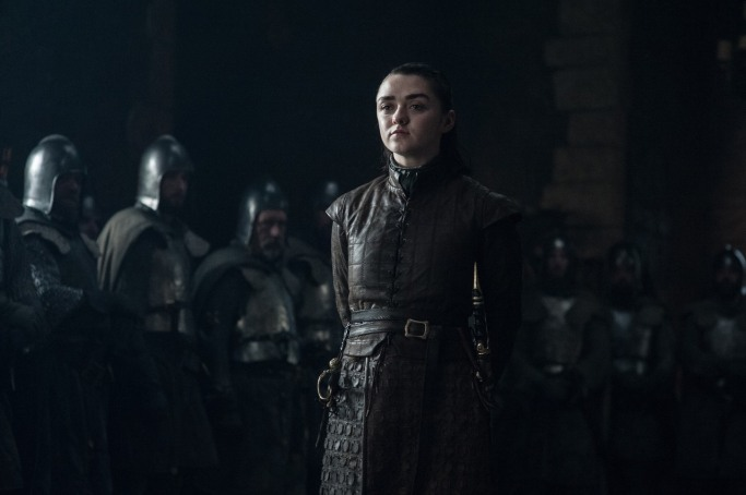 Arya Stark Game of Thrones The Dragon and the Wolf