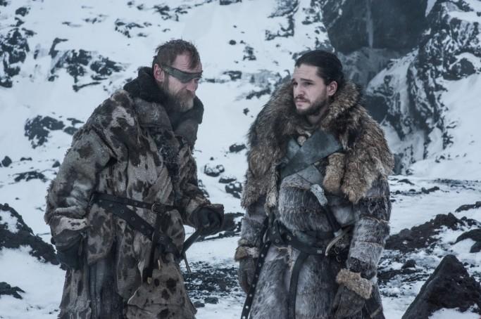 Beric Jon Snow Game of Thrones Beyond the Wall