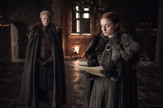 Brienne Sansa Stark Game of Thrones Beyond the Wall