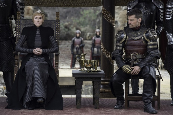 Cersei Jaime Game of Thrones The Dragon and the Wolf