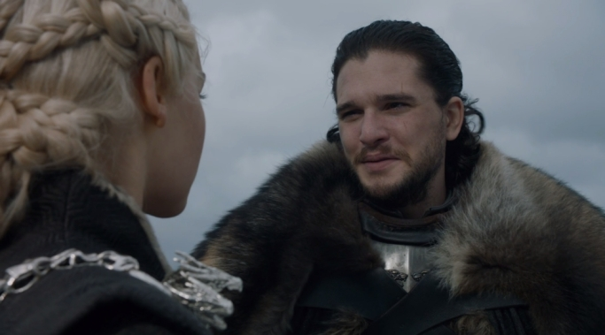 Jon Snow Daenerys Game of Thrones Eastwatch