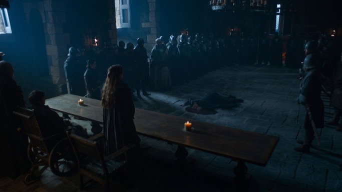 LIttlefinger execution Game of Thrones The Dragon and the Wolf
