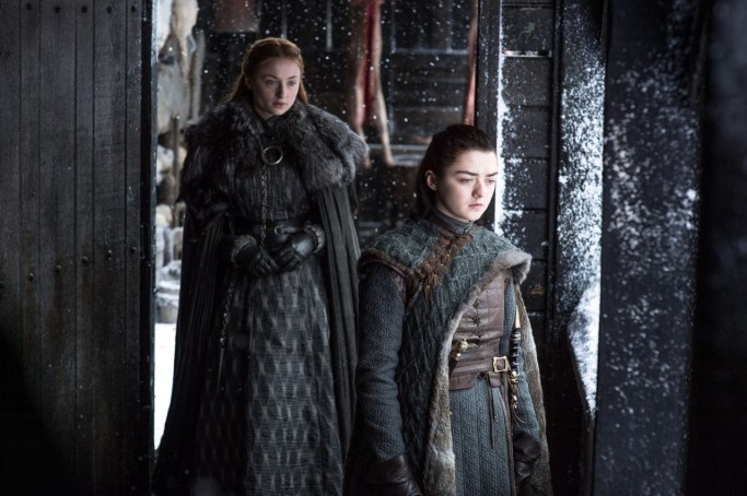 Sansa Arya Stark Game of Thrones Beyond the Wall