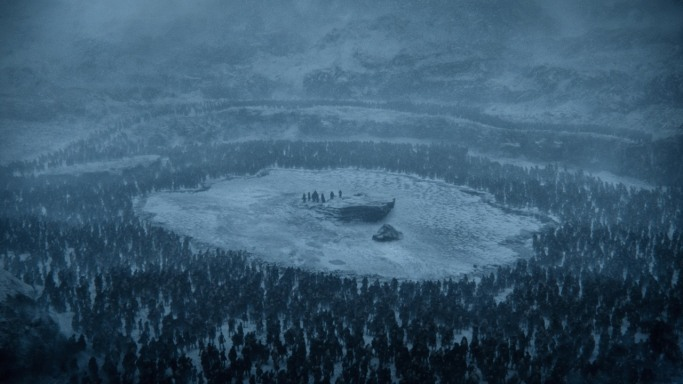 trapped Game of Thrones Beyond the Wall