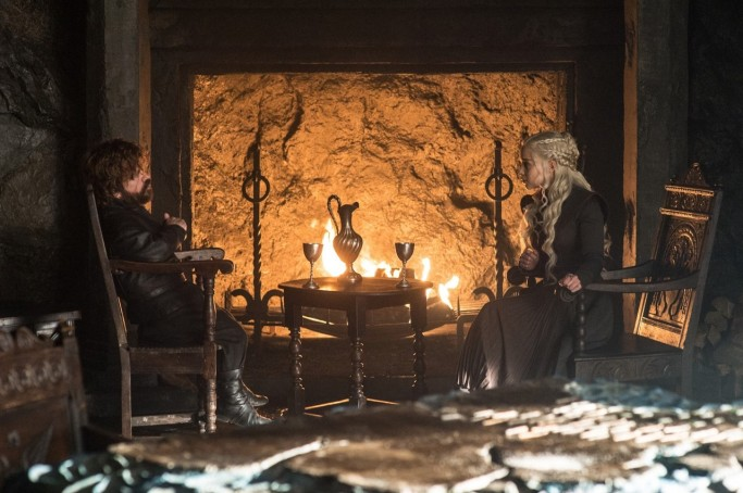 Tyrion Daenerys Game of Thrones Beyond the Wall
