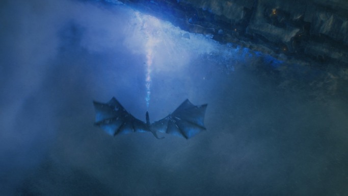 Viserion Game of Thrones The Dragon and the Wolf