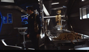 Captain Lorca musuem Star Trek Discovery Context is for Kings