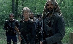 Carol Ezekiel The Walking Dead The Damned