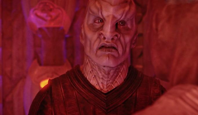Voq red Star Trek Discovery Butchers Knife