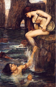 John William Waterhouse, The Siren, 1900