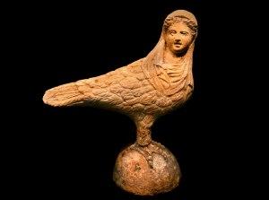 terracotta Siren, Greece, 300 BCE Photo Peter Horree,Alamy