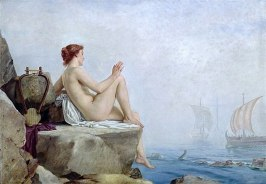 The Siren by Edward Armitage, 1888