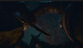 Arya Stark (Maisie Williams) kills the Night King (Vladimir Furdik)