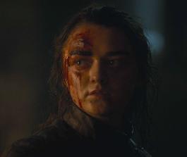 Arya Stark (Maisie Williams) gets some clarity