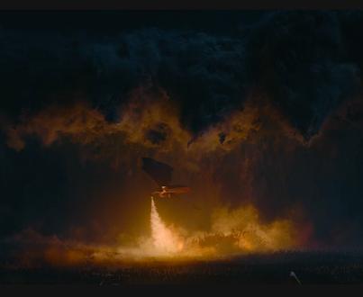 Daenerys Targargen (Emilia Clarke) rides Drogon