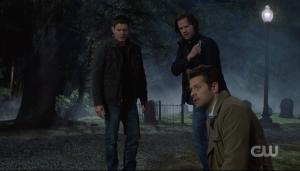 Dean Sam Winchester Castiel Supernatural Moriah