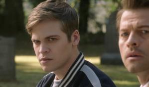 Jack glares Castiel Supernatural Moriah