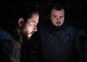 Jon Snow Samwell Tarly Game of Thrones S08E02