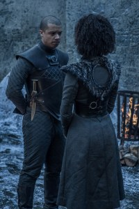 Missandei Greyworm Game of Thrones S08E02