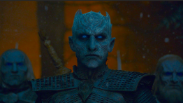 The Night King (Vladimir Furdik) enters the Godswood