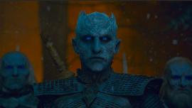 The Night King (Vladimir Furdik) enters the Godswood
