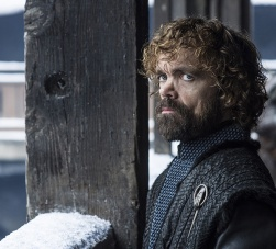 Peter Dinklage as Tyrion Lannister Game of Thrones HBO Helen-Sloan