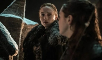 Sansa Arya Stark Game of Thrones S08e03
