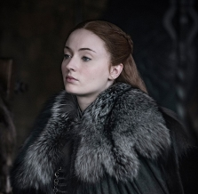 Sophie Turner as Sansa Stark Game of Thrones HBO Helen Sloan