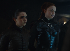 Arya Sansa Stark Game of Thrones The Last of the Starks
