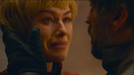 "Jaime Lannister reminds Cersei, ""Nothing else matters. Nothing else matters but us."""