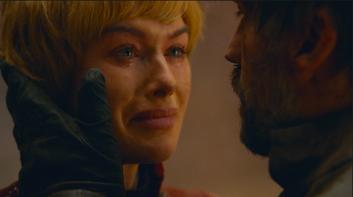 "Jaime Lannister reminds Cersei, ""Nothing else matters. Nothing else matters but us."""