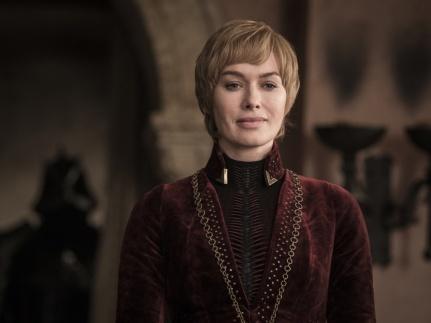 Cersei Lannister looks over King's Landing