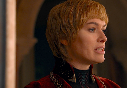 Cersei Lannister realizes she has lost the battle