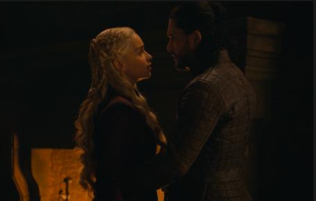 Daenerys Jon Snow Game of Thrones The Last of the Starks