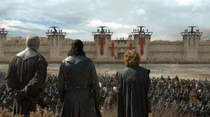 Davos Jon Tyrion Game of Thrones S08E05