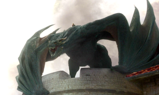 Drogon asserts his dominance over King's Landing